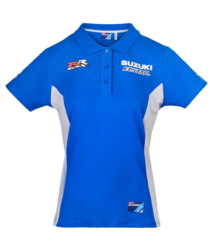 2020 MotoGP Suzuki Ecstar Ladies Polo Shirt