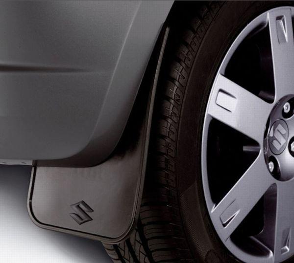 Flexible Mudflap Set - Rear - Suzuki Splash