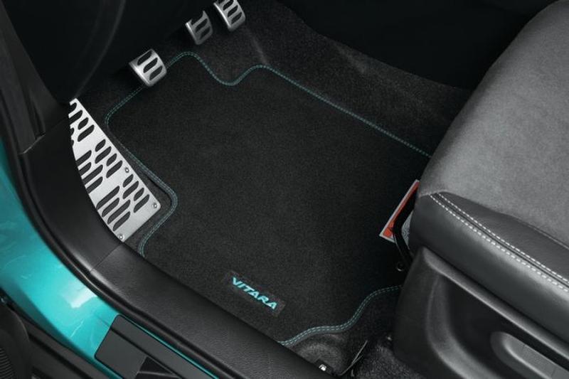Carpet Mat Set - Coloured logo