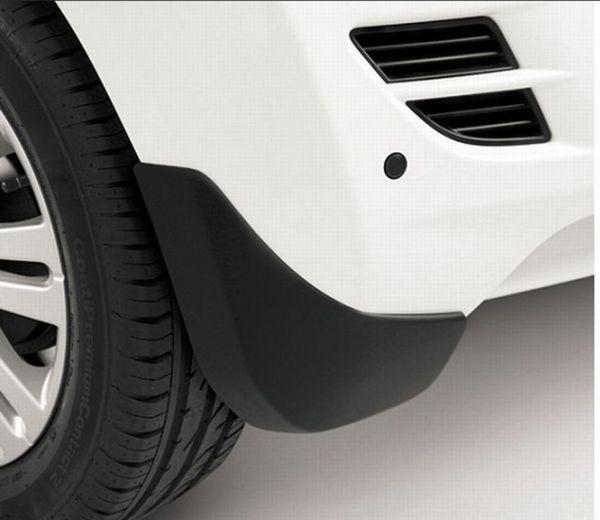 Moulded, Rigid Mudflap Set - Rear - Splash