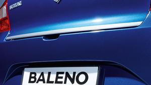 Chromed Rear Hatch Trim - New Suzuki Baleno
