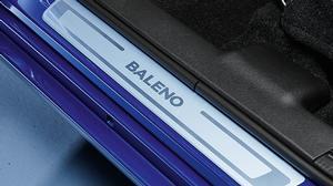 Door Sill Trim Set Silver - New Suzuki Baleno