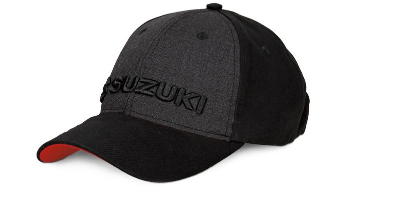 Team Black Suzuki Baseball Cap