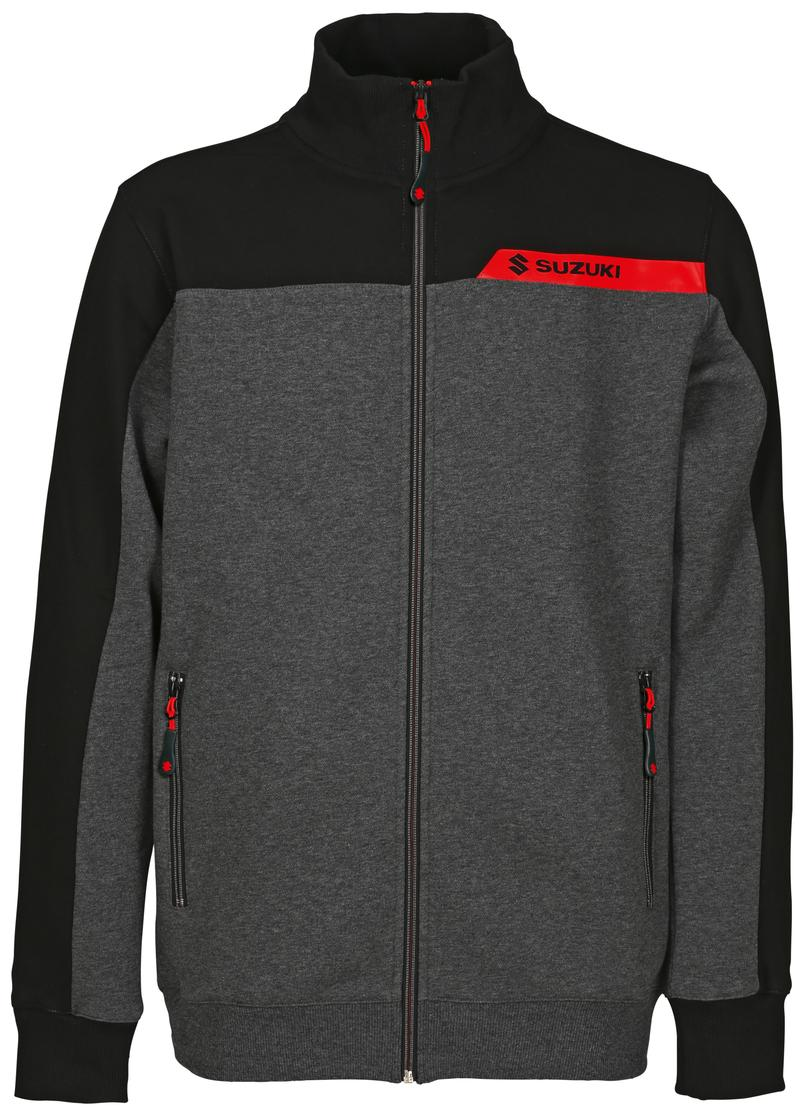 Team Black Suzuki Sweat Jacket 2018-19