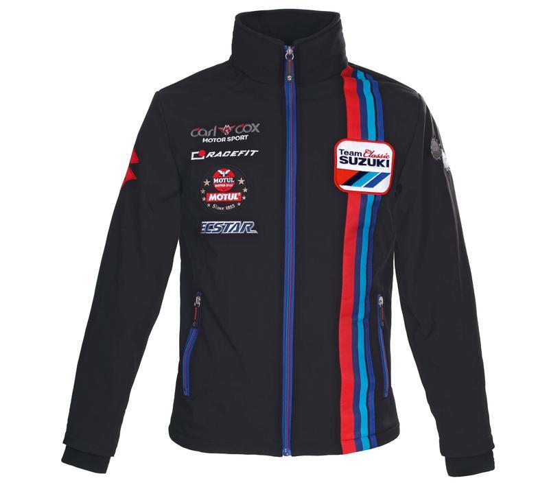 Team Classic Suzuki Soft Shell Jacket