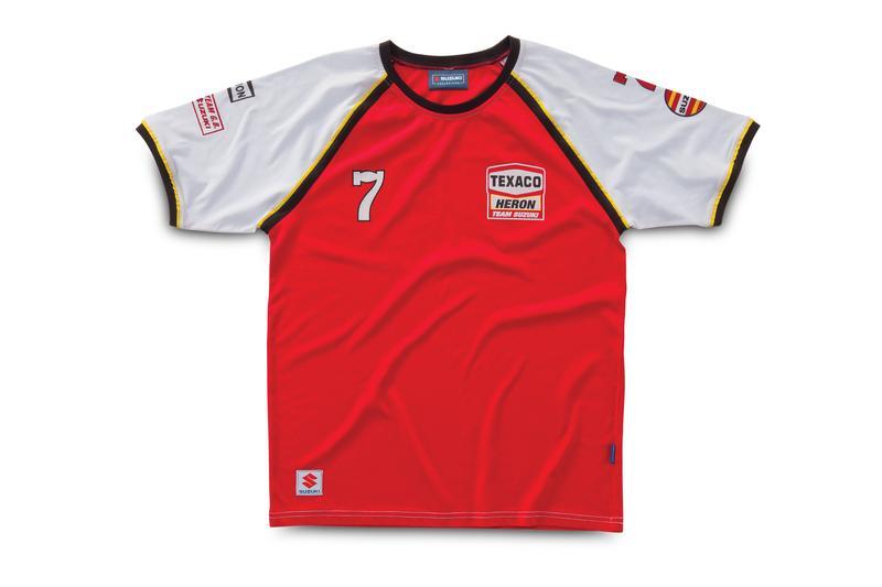 Kids Suzuki Barry Sheene T-Shirt