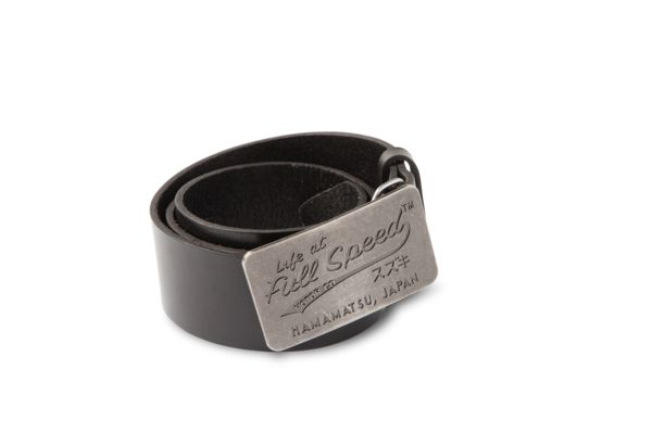 Life at Full Speed Leather Belt