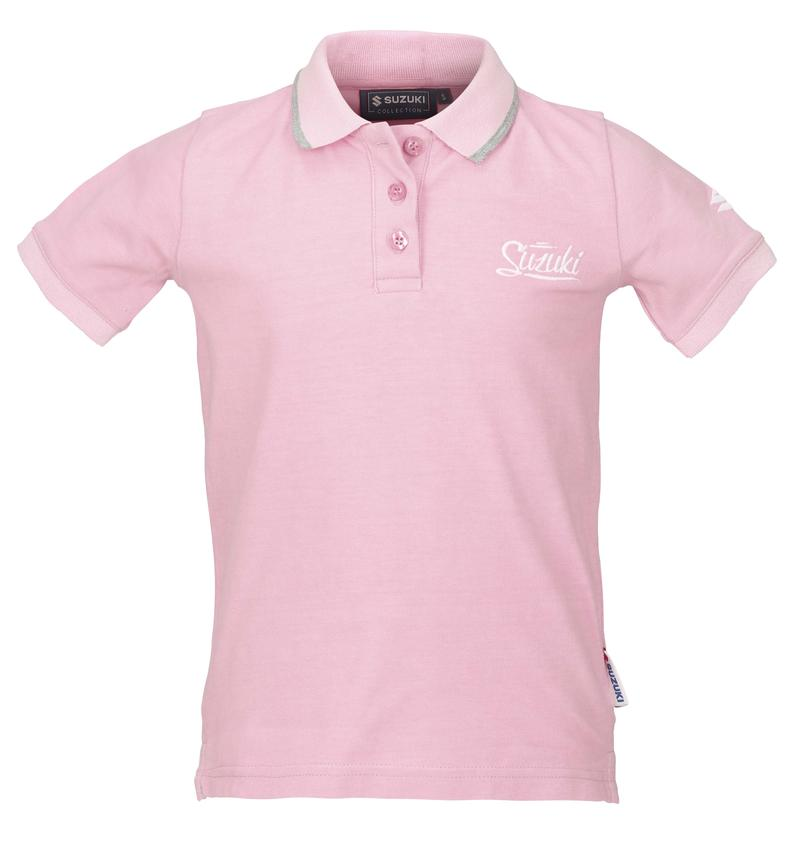 Girls Pink Polo Shirt