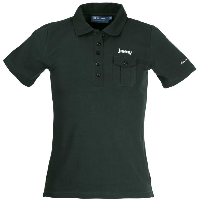 Jimny Green Polo Shirt Ladies