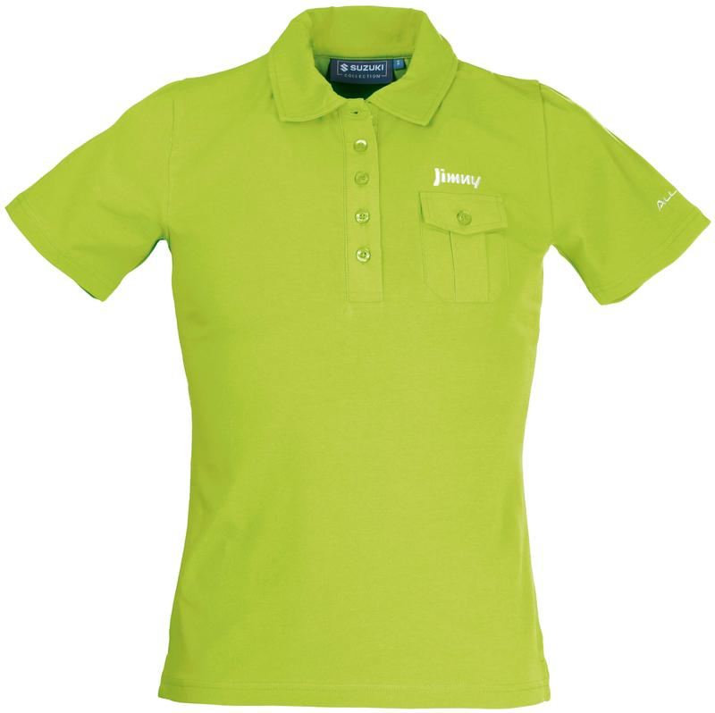 Jimny Yellow Polo Shirt Ladies