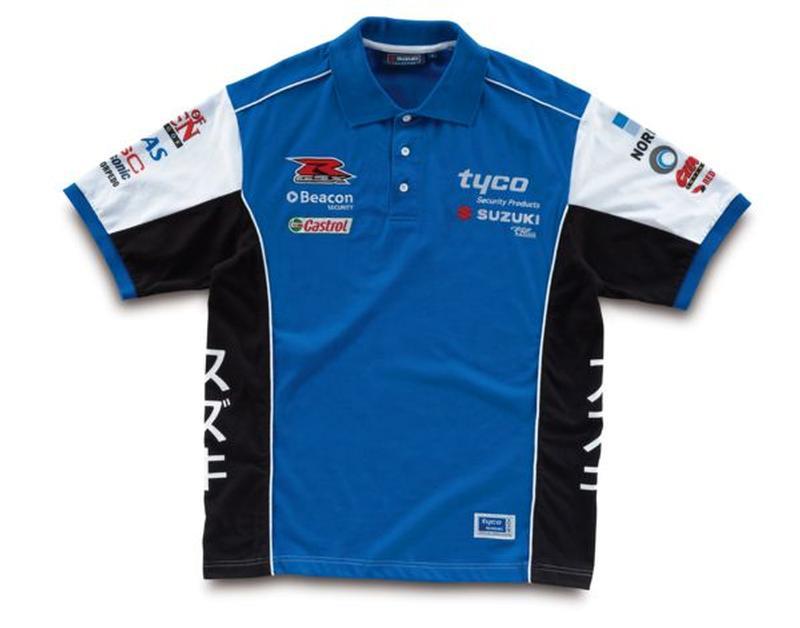 Tyco Suzuki GSXR Polo Shirt
