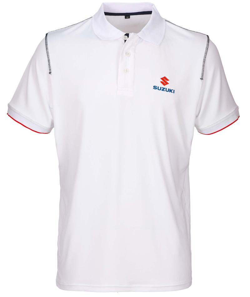 Team White Men's Polo Shirt