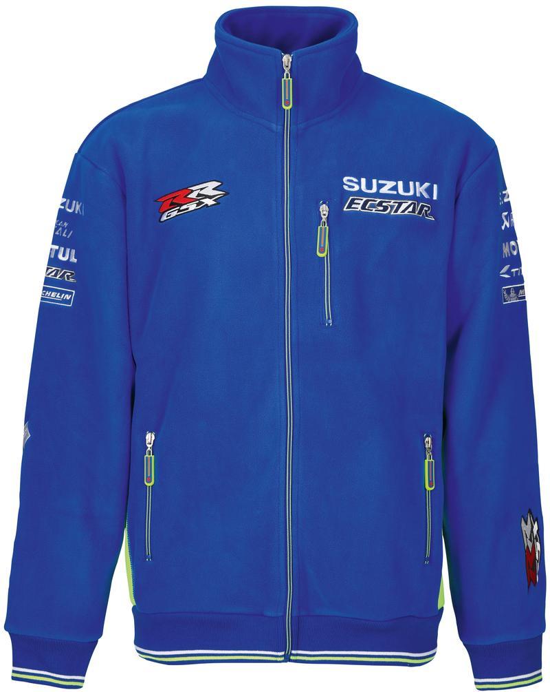 Adult Team Fleece - 2018 Suzuki Ecstar MotoGP