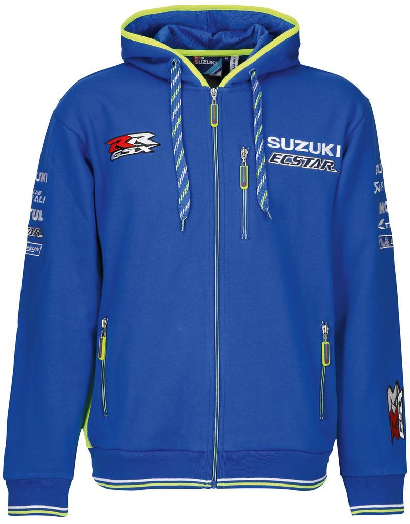 Adult Team Hoodie - Suzuki Ecstar MotoGP 2018
