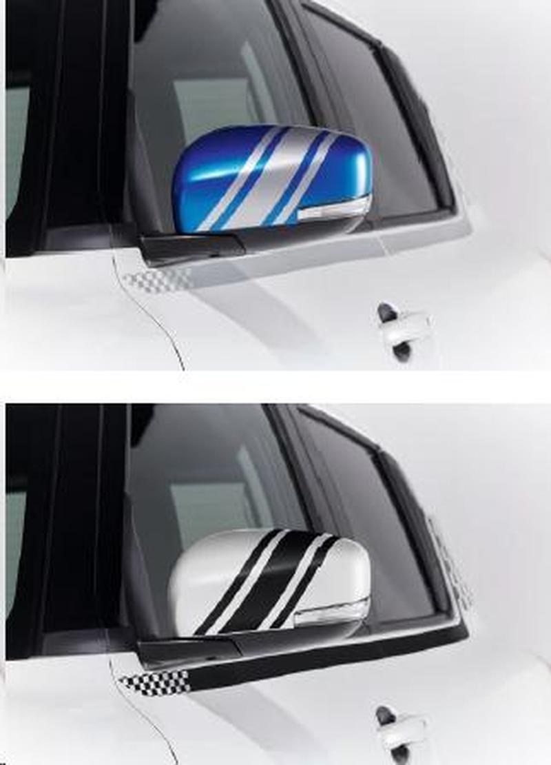 Mirror Decal Set - Suzuki Swift 06/17>