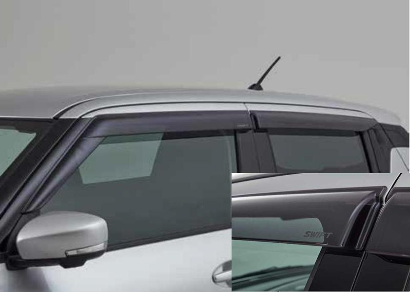 Rain & Wind Deflectors - Suzuki Swift 06/2017>