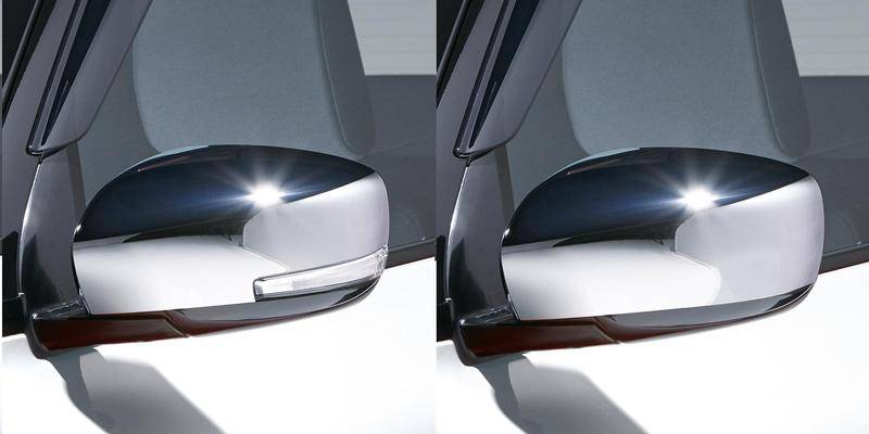 Chromed Door Mirror Cover Set - Swift 06/17>