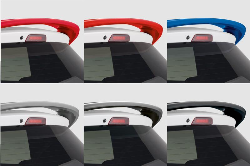Rear Spoiler Colour Coded -  Swift 06-17 - 2020