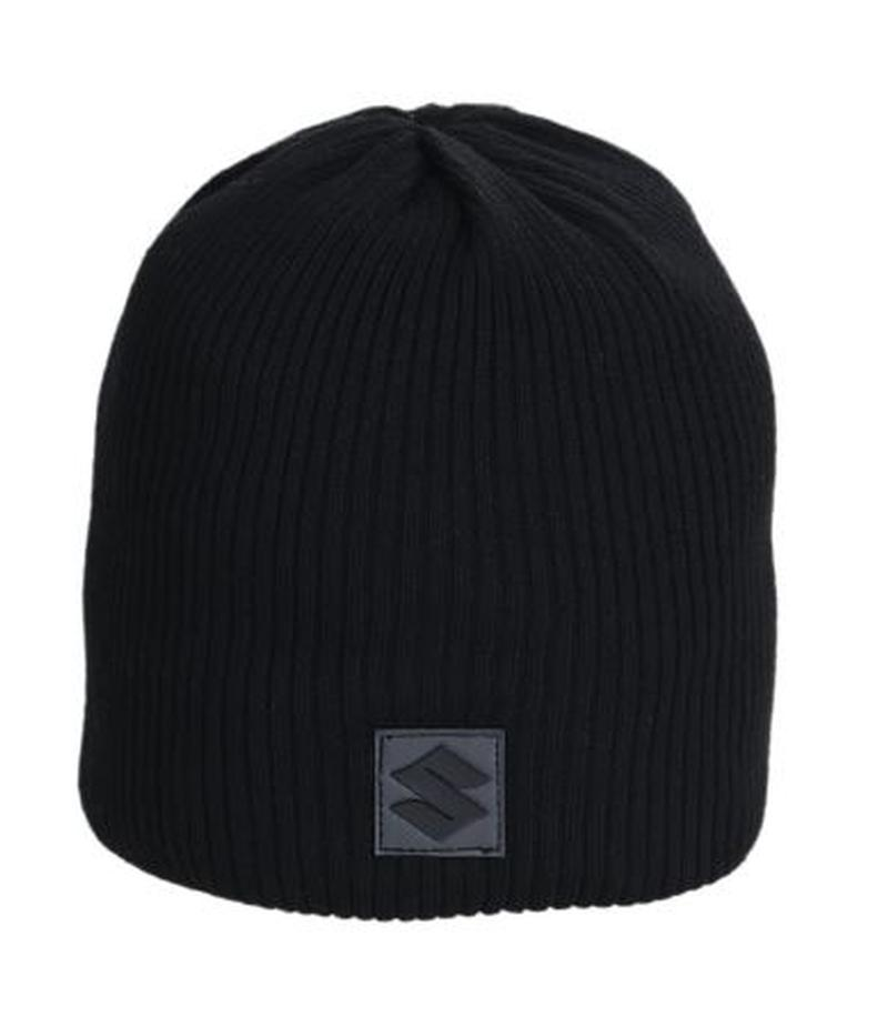 Suzuki Black Winter Beanie Hat