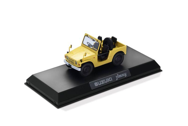 Die-cast scale model of original Jimny