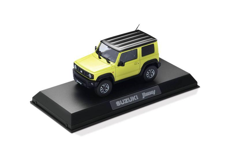DIe-cast scale model of New Jimny