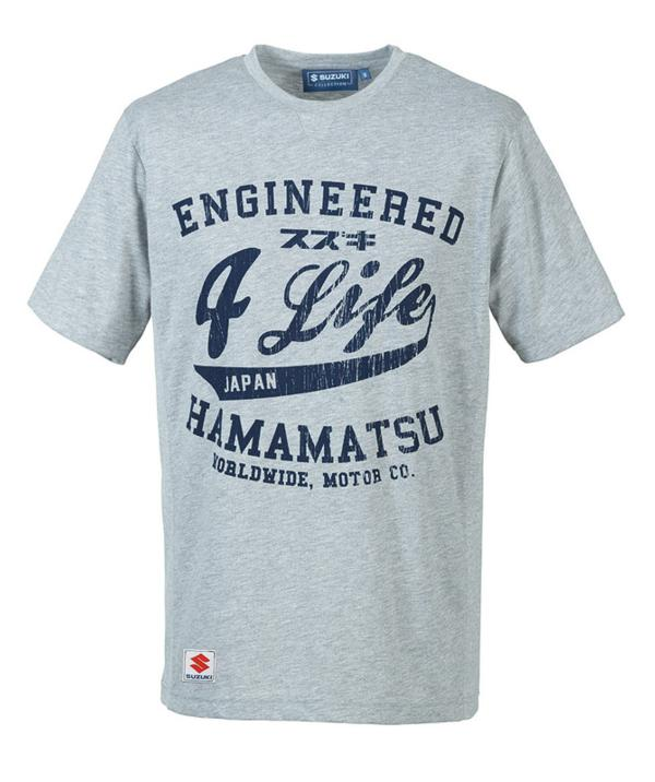 Engineered for Life T-Shirt - Grey