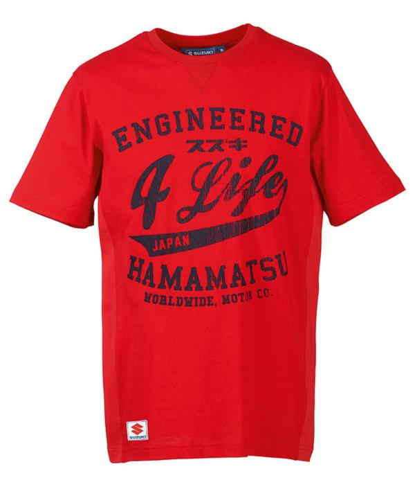 Engineered for Life T-Shirt - Red