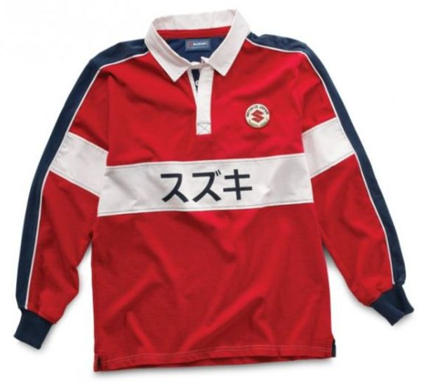 Suzuki Red Rugby Shirt