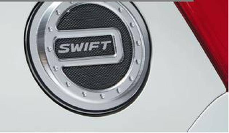 Aluminium Fuel Cap Cover - New Swift & Sport