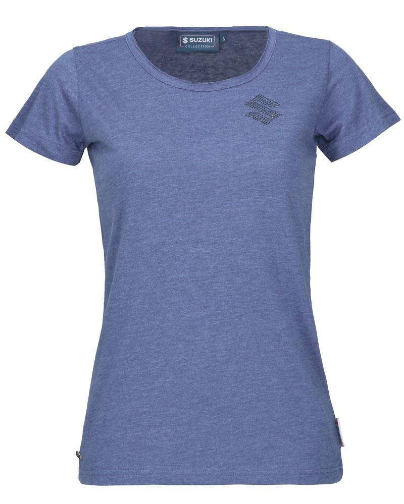 Ladies Fashion Blue T-Shirt