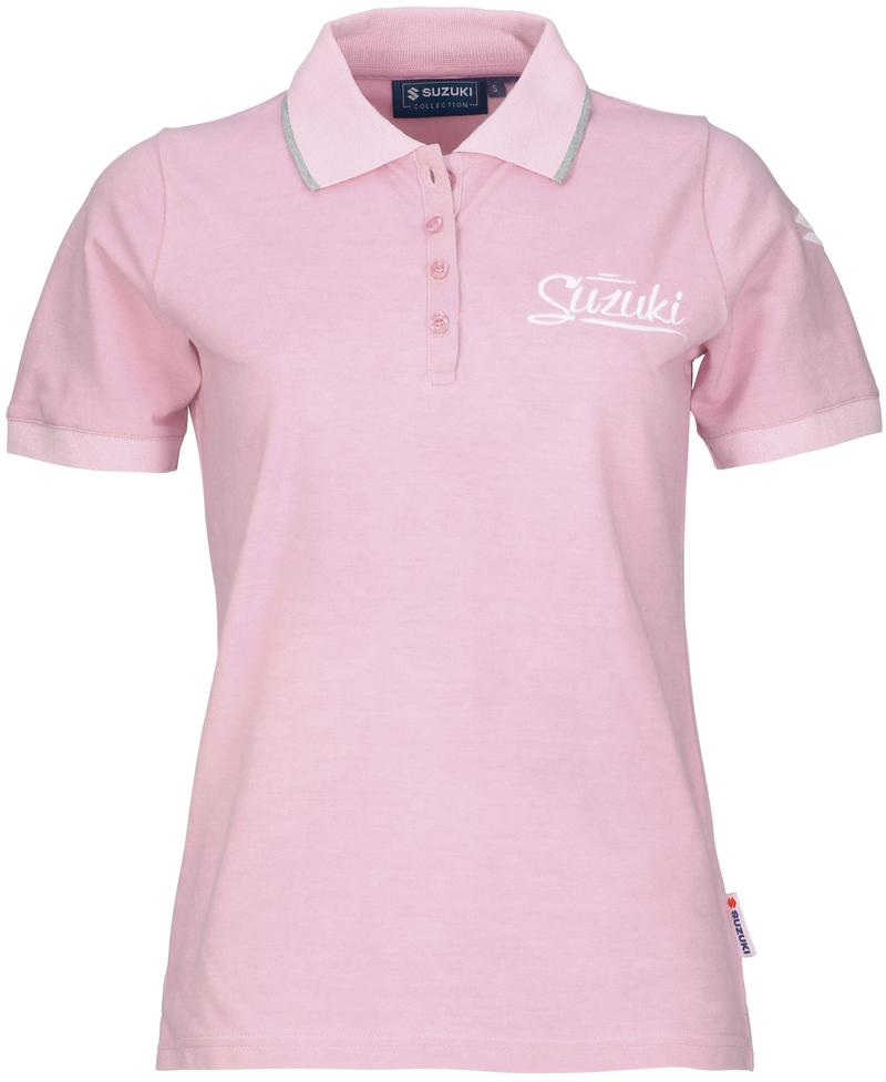 Ladies Pink Polo Shirt