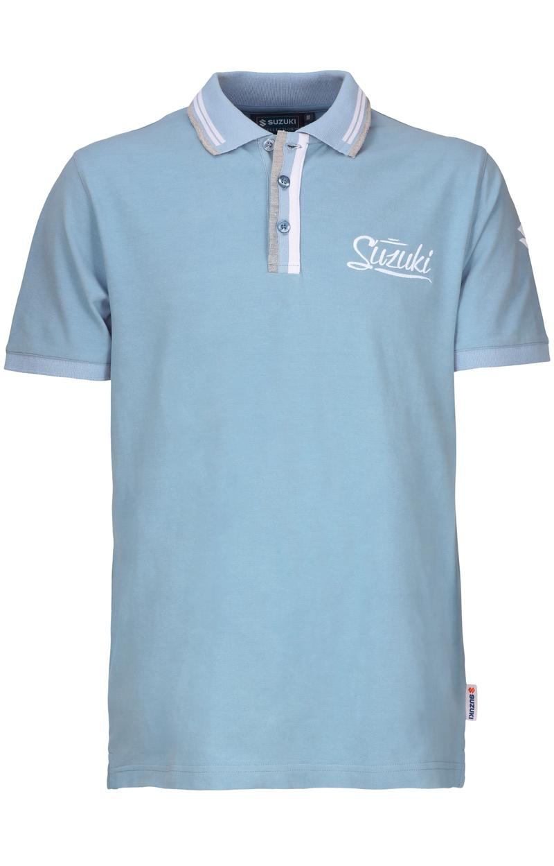 Mens Light Blue Polo Shirt