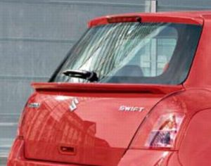 Rear Hatch - Mid Spoiler - Suzuki Swift