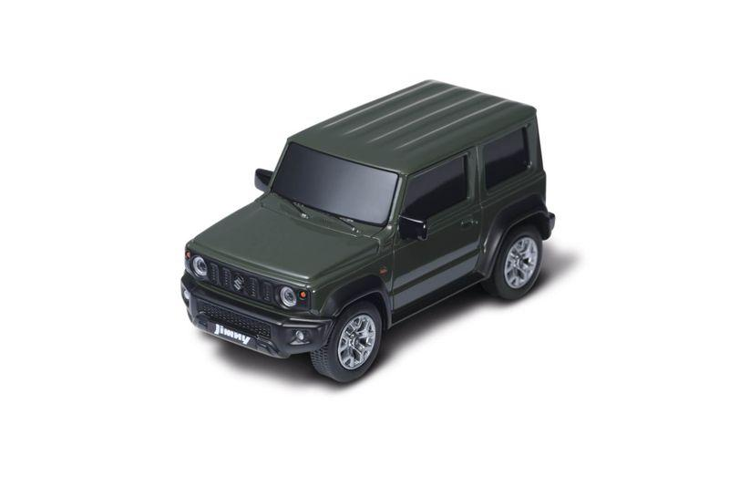 Jimny pull-back miniature car, Jungle green