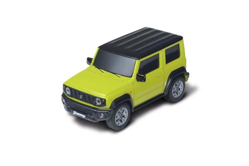 Jimny pull-back miniature car, Kinetic yellow