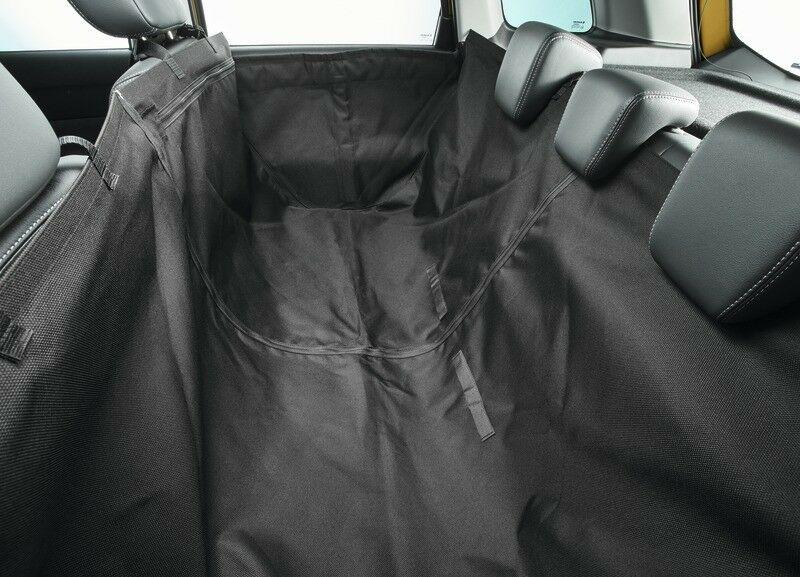 Rear Seat Protective Cover, Black