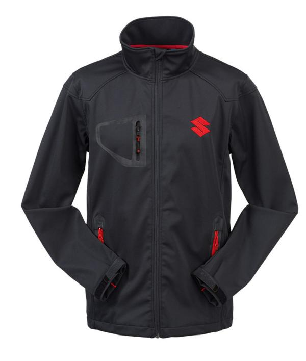 Team Black Suzuki Softshell Jacket (3XL)