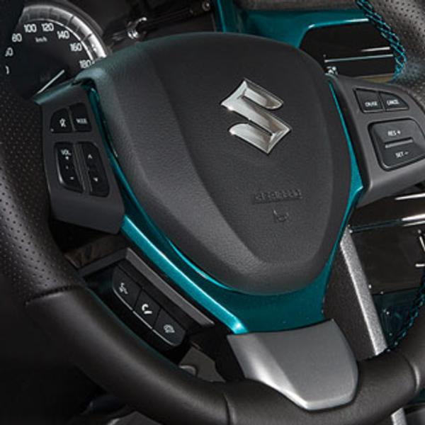 Steering Wheel Coloured Trim - New Suzuki Vitara