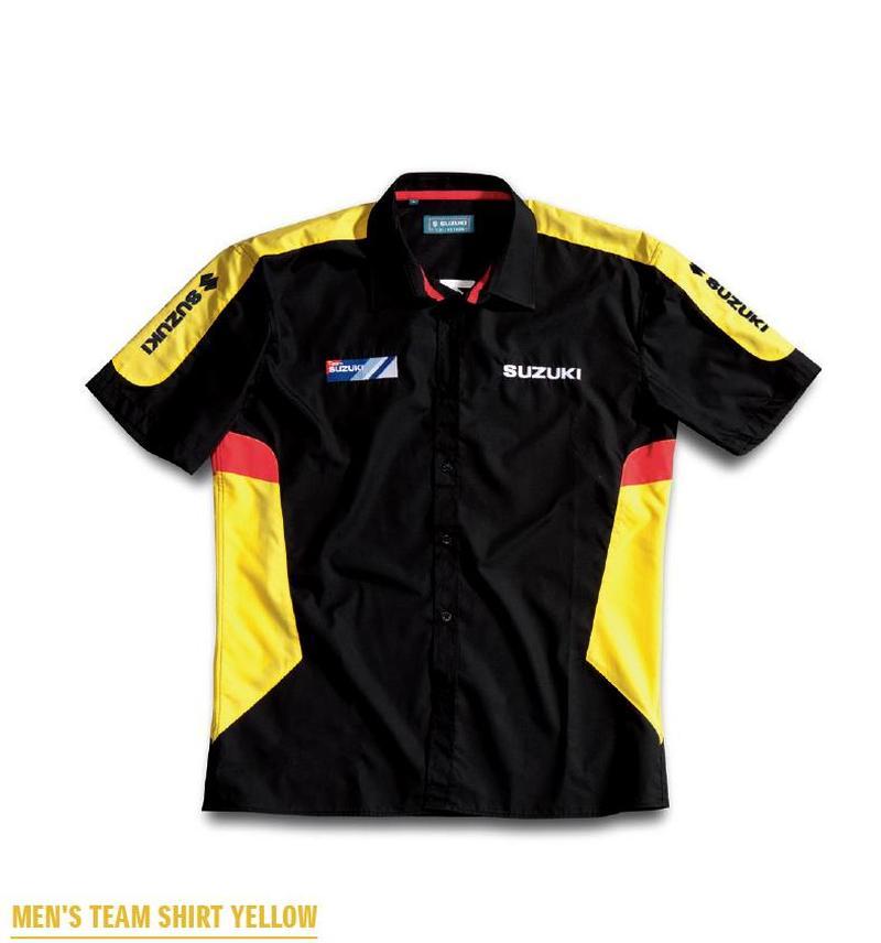 Suzuki Team Yellow Shirt