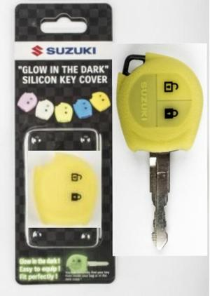 Suzuki Silicon Glow in The Dark Key Cover (TA)