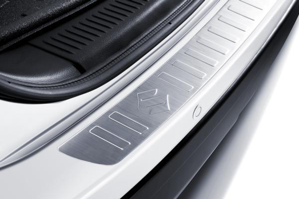 Rear Bumper Protector - Aluminium - S-Cross