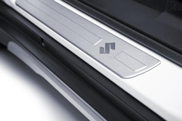 Door Sill Trim Set - Aluminium - Suzuki S-Cross