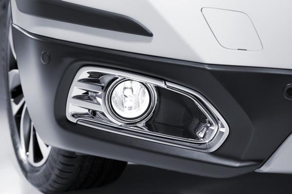 Chromed Fog Lamp Trim Set - Suzuki S-Cross