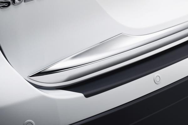 Chromed Rear Hatch Trim - Suzuki S-Cross