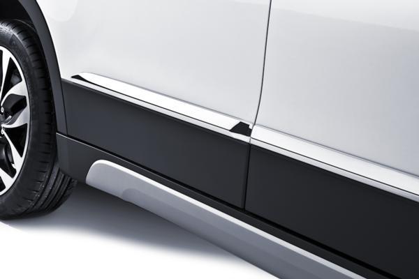 Chromed Side Body Trim Set - Suzuki S-Cross