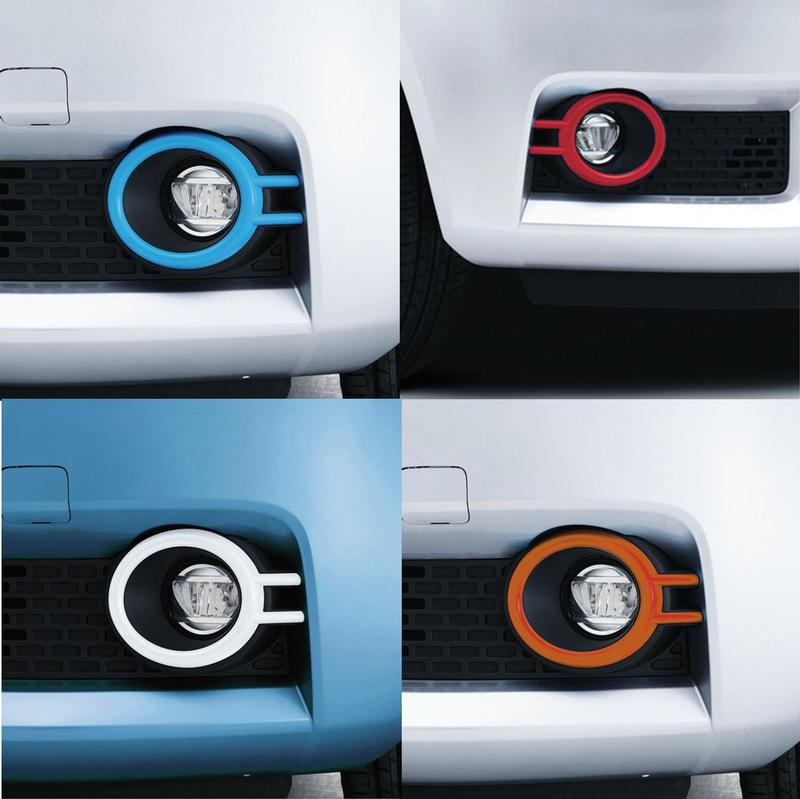 Front Fog Lamp Coloured Trim Set - New IGNIS