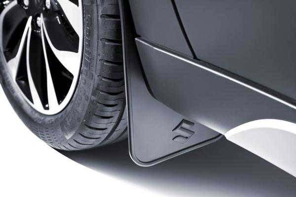Flexible Mudflap Set - Front - Suzuki S-Cross