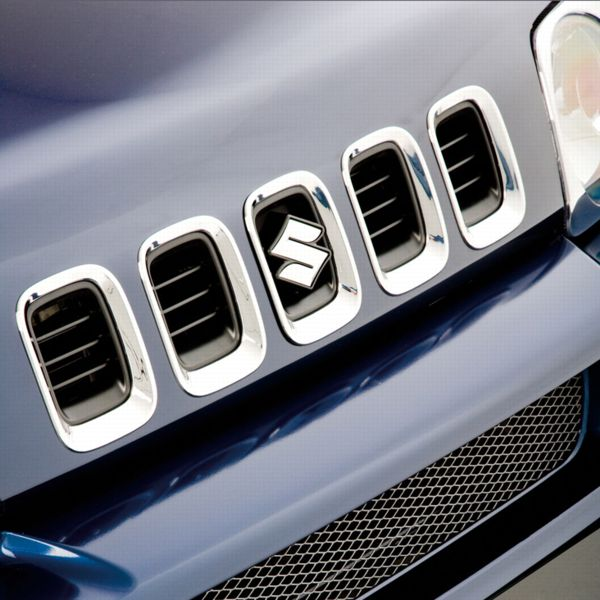 Chrome Grille Cover Set - Suzuki Jimny