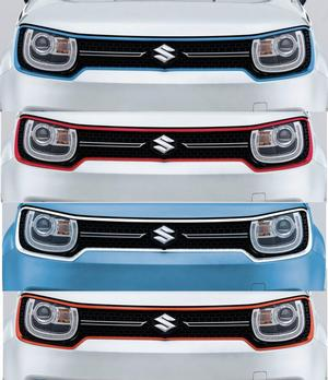 Front Grille Surround Coloured - New IGNIS