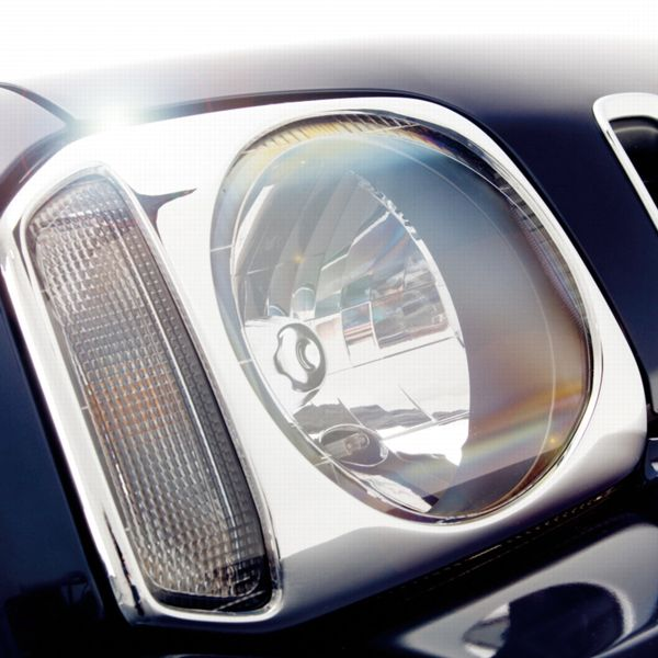 Chrome Headlamp Trim Set - Suzuki Jimny